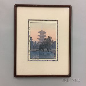 Toshi Yoshida (1911-1995), Toji Pagoda
