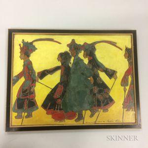 Bertha Lum (1869-1954), Parade of the Marionettes