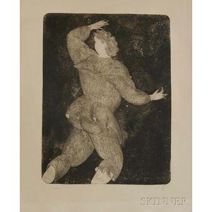 Sandro Chia (Italian, b. 1946)      Three Works: The Butcher ,  The Painter