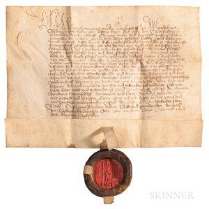 Archbishop of Magdeburg, Document, 20 December 1462.