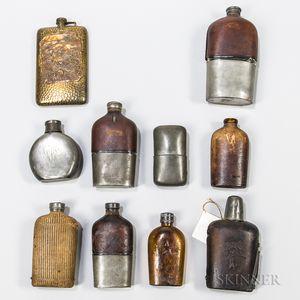 Ten Flasks
