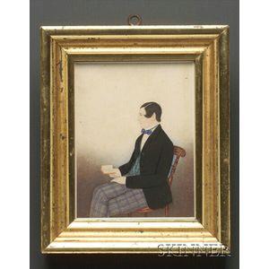 Self-Portrait of Thomas Perren Corsham Wilts