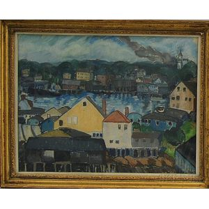 Ethel Louise Paddock (American, 1887-1975)      Gloucester Harbor