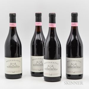 Moccagatta Barbaresco Vigneto Basarin 1990, 4 bottles