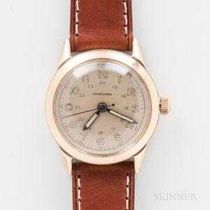 Longines Watch Co. 14kt Gold Wristwatch