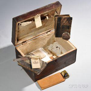 Identified Civil War Box and Documents of Lieutenant Joseph Rylands