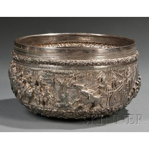 Large Silver Bowl
