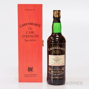 Springbank 31 Years Old 1965, 1 70cl bottle (owc)