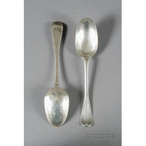 Pair of Silver Spoons