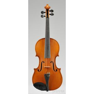 Mittenwald Violin, Gustave Ficker, 1958