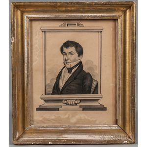 John Ritto Penniman (Massachusetts/Maryland, 1782-1841)      Joseph Knox, Esquire