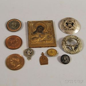 Ten Miscellaneous Decorative Objects