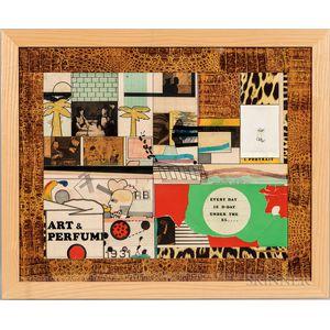 Richard Marshall Merkin (American, 1938-2009)      Art and Perfume #13