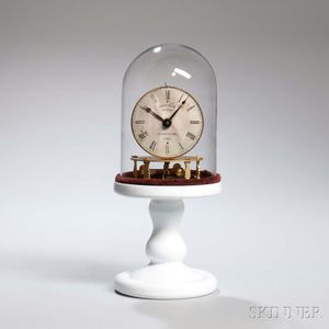 Terryville Manufacturing Company Torsion Candlestick Timepiece