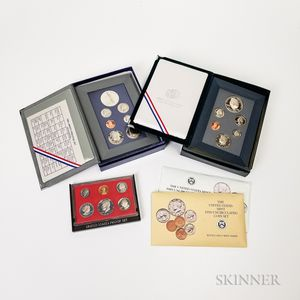 Five Mint and Proof Sets