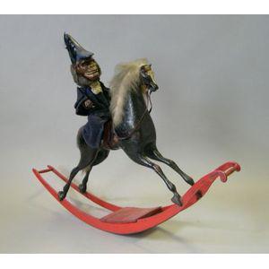 Automaton of a Monkey on a Rocking Horse