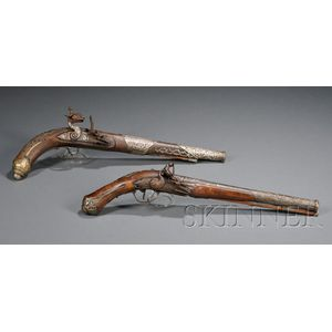Two Flintlock Pistols