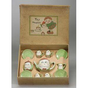 Boxed China Googly Tea Set