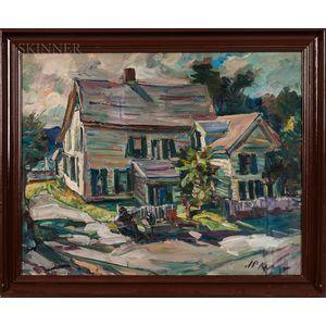 James P. Kerr (American, b. 1953)      Cape Ann House
