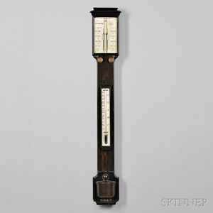Crichton Bros. Kingwood Mercury Stick Barometer
