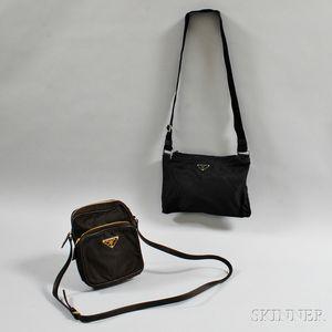 Two Nylon Handbags