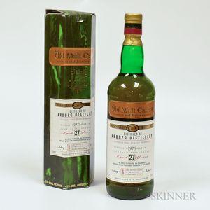 Ardbeg 27 Years Old 1975, 1 750ml bottle (oc)