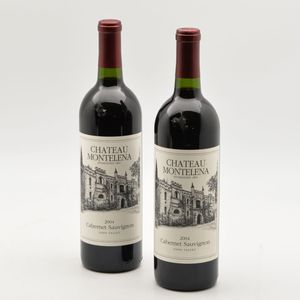 Chateau Montelena Cabernet Sauvignon 2004, 2 bottles