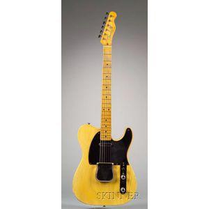 American Electric Guitar, Fender Electric Instruments, Fullerton, 1953, Model