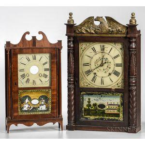 Two Shelf Clock Cases