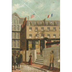 Frank Wilbert Stokes (American, b. 1858)  Restaurant Marliave