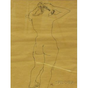 American School, 20th Century      Female Nude