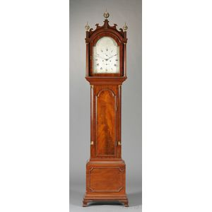 Jeffrey Mahogany Tall Case Clock
