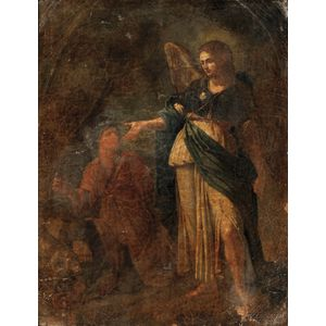 Italian School, 19th Century      Archangel Raphael with Tobias and the Fish