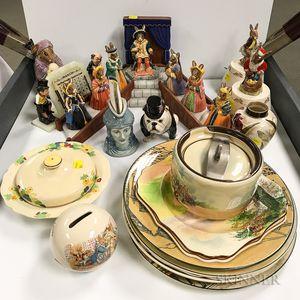 Twenty-four Doulton Ceramic Items