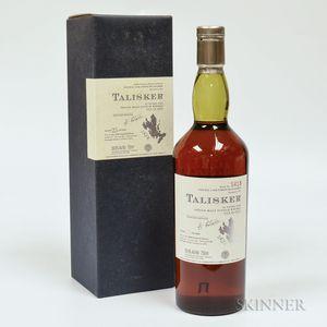 Talisker 25 Years Old 1975, 1 750ml bottle (oc)