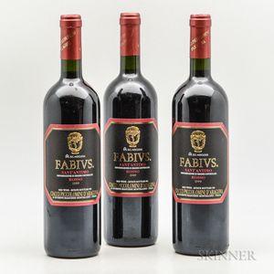 Ciacci Piccolomini dAragona SantAntimo Fabius 1999, 3 bottles