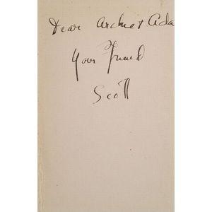 (Archibald MacLeish's Copy), Fitzgerald, F. Scott (1896-1940)