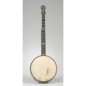 American  Five-String Banjo, Fairbanks & Cole, Boston, c. 1895