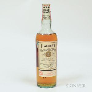 Teachers Highland Cream, 1 4/5 quart bottle