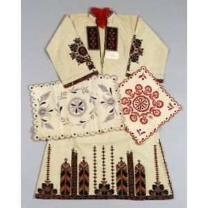 European Embroidered Cotton Items and Clothes.