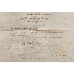 Fillmore, Millard (1800-1874) & Webster, Daniel (1782-1852)