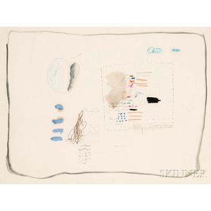 Pat Steir (American, b. 1940)      Untitled