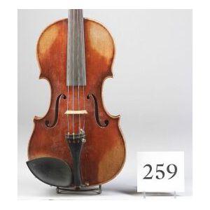 German Violin, Heinrich Thomas Heberlein, Jr., Markneukirchen, 1925