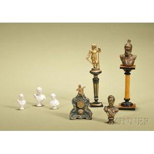 Eight Miniature Decorations