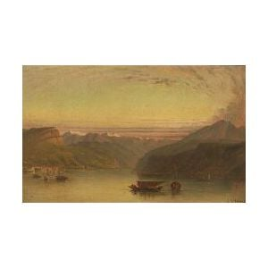 John Rollin Tilton (American, 1828-1888)  Lake Como