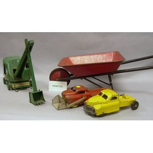 Lot of  Painted Steel Vehicles