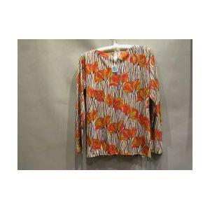 Emilio Pucci Silk Long Sleeved Tee Shirt.