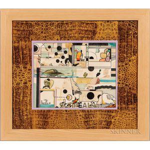 Richard Marshall Merkin (American, 1938-2009)      Art and Perfume #1