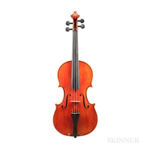 Italian Violin, Giuseppe Lucci, Rome, 1968