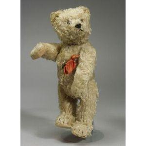 Schuco Yes-No Blonde Mohair Bear